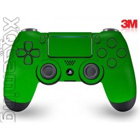 DS4 skin Metallic Green Envy