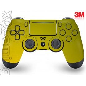 DS4 skin Metallic Lemon Sting