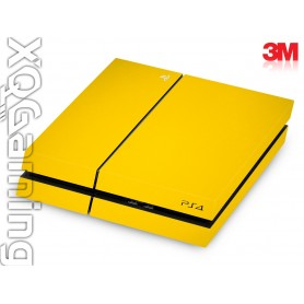 PS4 skin Gloss Bright Yellow