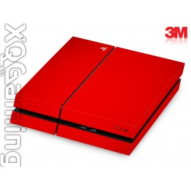 PS4 skin Gloss Hotrod Red