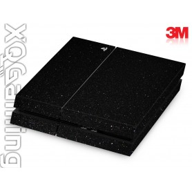 PS4 skin Metallic Black Galaxy Sparkle
