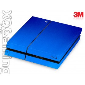 PS4 skin Metallic Blue Fire