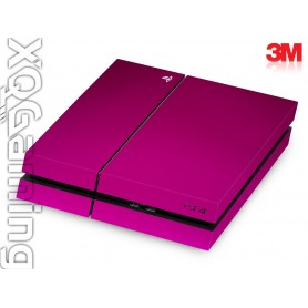 PS4 skin Metallic Fierce Fuchsia