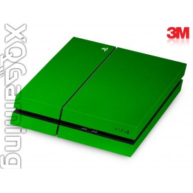 PS4 skin Metallic Green Envy