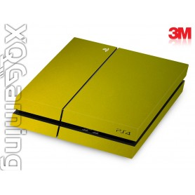 PS4 skin Metallic Lemon Sting