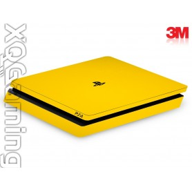 PS4 slim skin Gloss Bright Yellow
