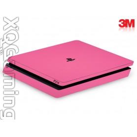PS4 slim skin Gloss Hot Pink