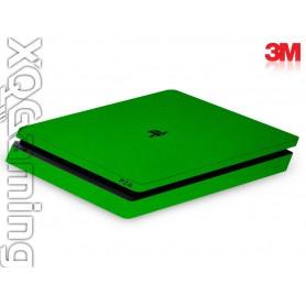 PS4 slim skin Metallic Green Envy