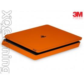 PS4 slim skin Metallic Liquid Copper