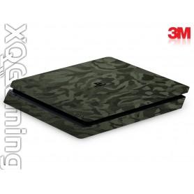 PS4 slim skin Shadow Military Green