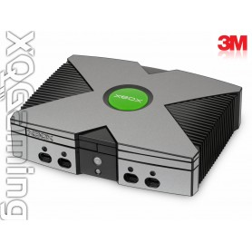 Xbox skin Metallic Sterling Silver