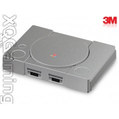 PS1 classic (2018) skin Metallic Sterling Silver