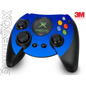 XB duke controller Metallic Blue Fire