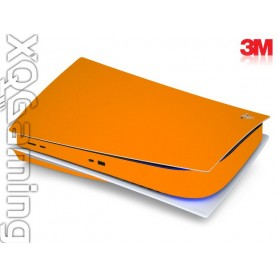 PS5 disc skin Gloss Bright Orange
