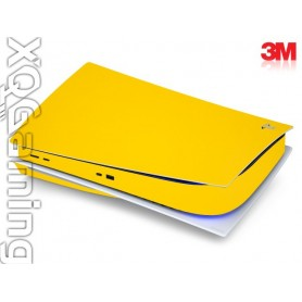 PS5 disc skin Gloss Bright Yellow