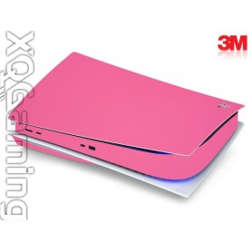 PS5 disc skin Gloss Hot Pink