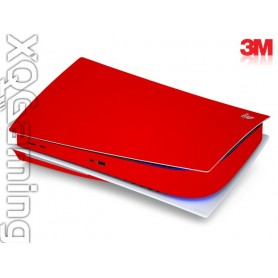 PS5 disc skin Gloss Hotrod Red
