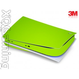 PS5 disc skin Gloss Light Green