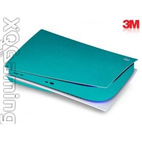 PS5 disc skin Metallic Atomic Teal