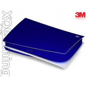 PS5 disc skin Metallic Blue Rapsberry