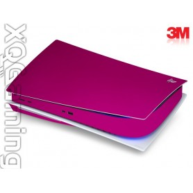 PS5 disc skin Metallic Fierce Fuchsia