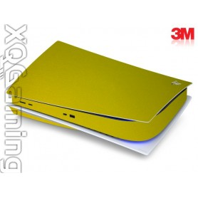 PS5 disc skin Metallic Lemon Sting