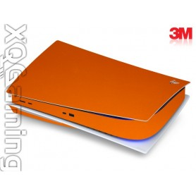 PS5 disc skin Metallic Liquid Copper