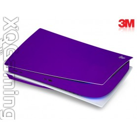 PS5 disc skin Metallic Plum Explosion