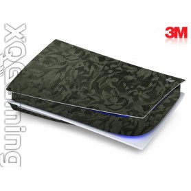 PS5 disc skin Shadow Military Green