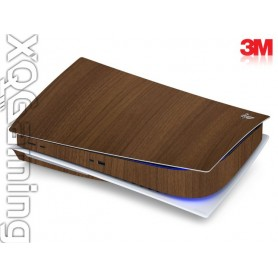 PS5 disc skin Wood Brown