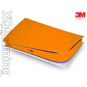 PS5 digi skin Gloss Bright Orange