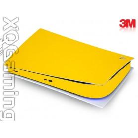 PS5 digi skin Gloss Bright Yellow