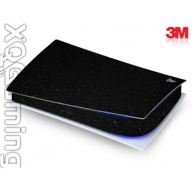 PS5 digi skin Metallic Black Galaxy Sparkle