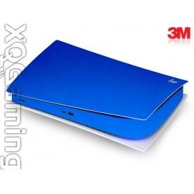 PS5 digi skin Metallic Blue Fire