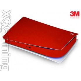 PS5 digi skin Metallic Dragon Fire Red