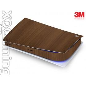 PS5 digi skin Wood Brown