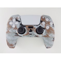 DualSense rubber shell Camo White