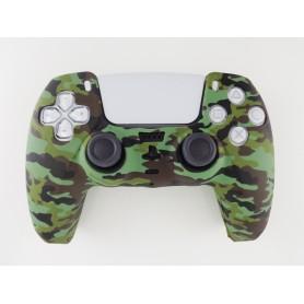 DualSense rubber shell Camo Green