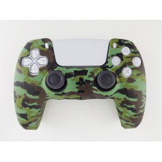 DualSense rubber shell Camo Green