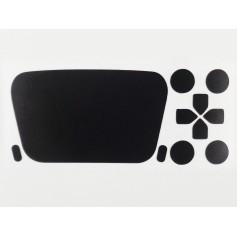 DualSense button set decals Mat Black 3M
