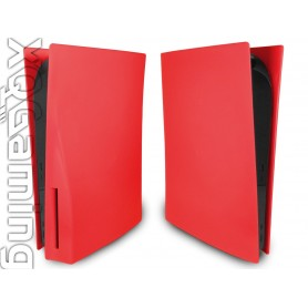 PS5 disc Faceplates Mat Red