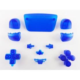 DualSense button set Transparent Blue