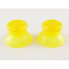 DualSense sticks Transparent Yellow