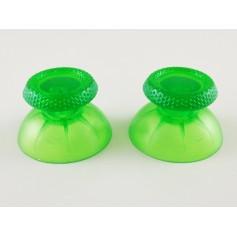 DualSense sticks Transparent Green