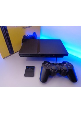 Playstation 2 Slim PAL zwart