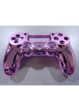 Dualshock 4 chrome pink shell