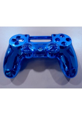 Dualshock 4 shell chrome Blue