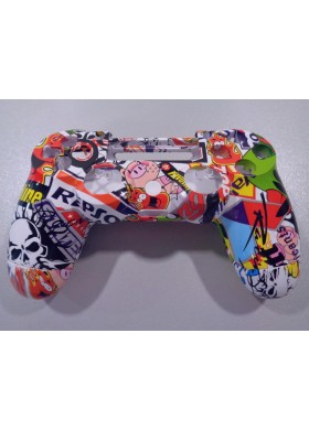 Dualshock 4 shell Stickerbomb