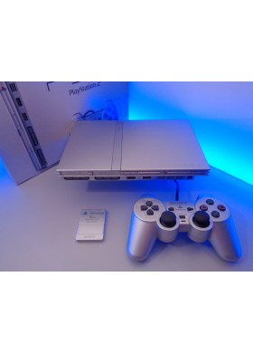 Playstation 2 Slim PAL zilver