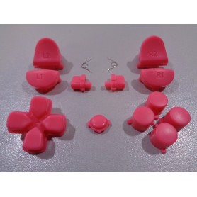 DS4 button set matt Pink Gen 1,2